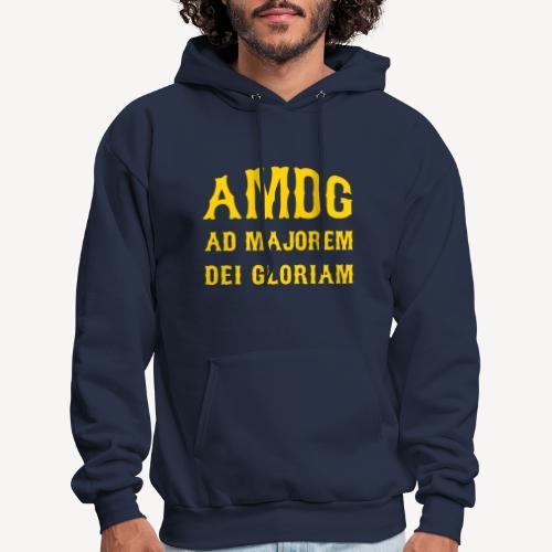 AMDG - Men's Hoodie