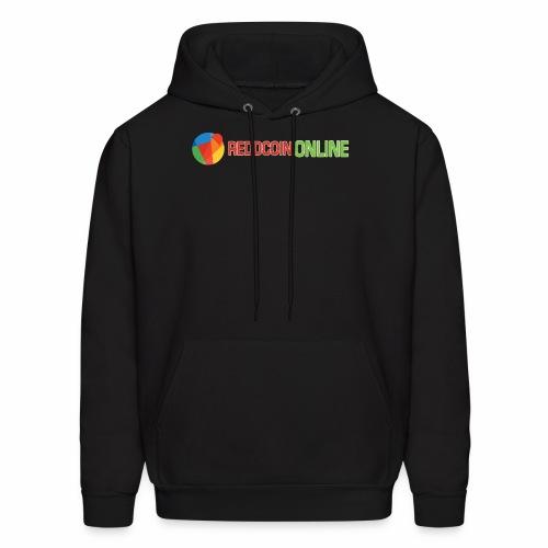 Reddcoin online logo red and green - Men's Hoodie
