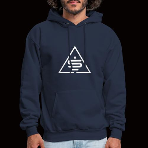 Logo blanc Sea of MInds - Men's Hoodie