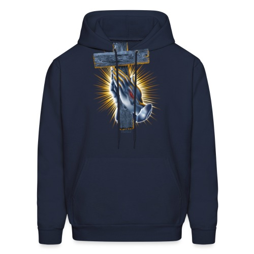Blessed Hands by RollinLow - Men's Hoodie
