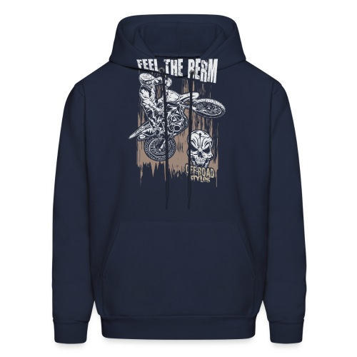 Motocross Feel The Berm - Men's Hoodie