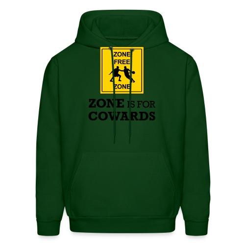 zoneisforcowards - Men's Hoodie