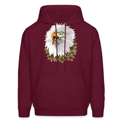 Big, Bold Eagle - Men's Hoodie