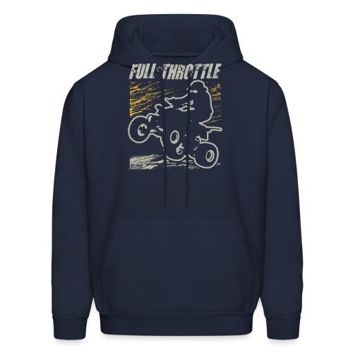ATV Quad Full Throttle - Men's Hoodie