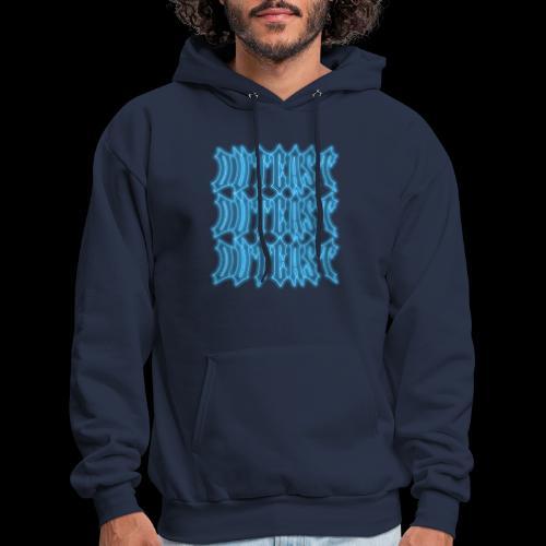 outcast x3 blue - Men's Hoodie