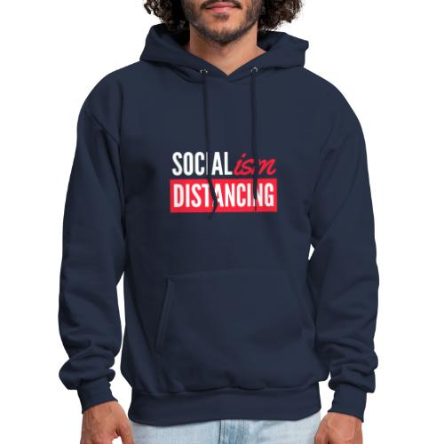 SOCIALism DISTANCING - Men's Hoodie