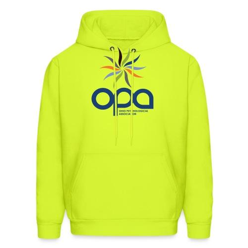 Hoodie with full color OPA logo - Men's Hoodie