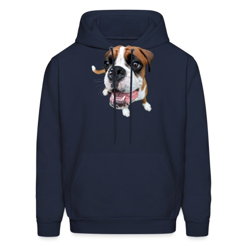 Boxer Rex the dog - Men's Hoodie
