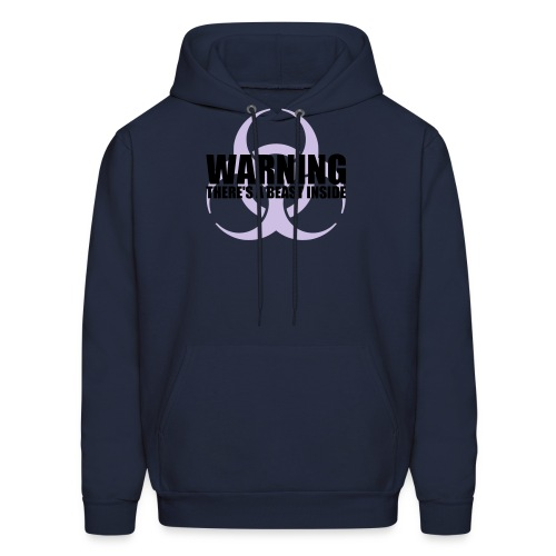 Warning...There's a Beast Inside - Men's Hoodie