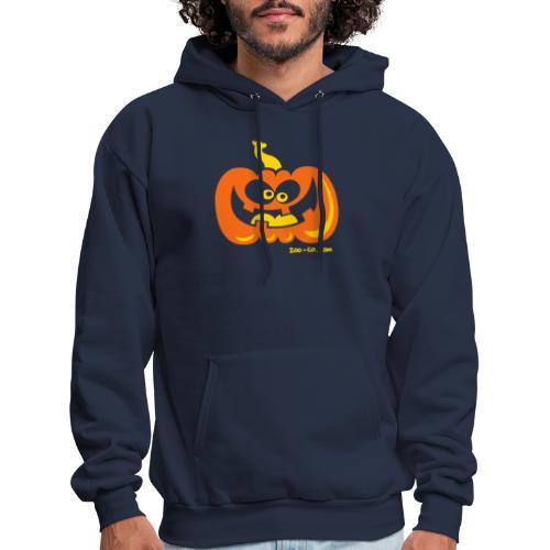 Smiling Pumpkin - Men's Hoodie