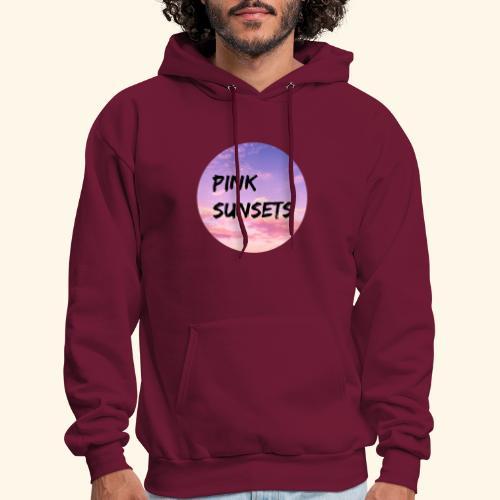 Pink Sunsets - Men's Hoodie