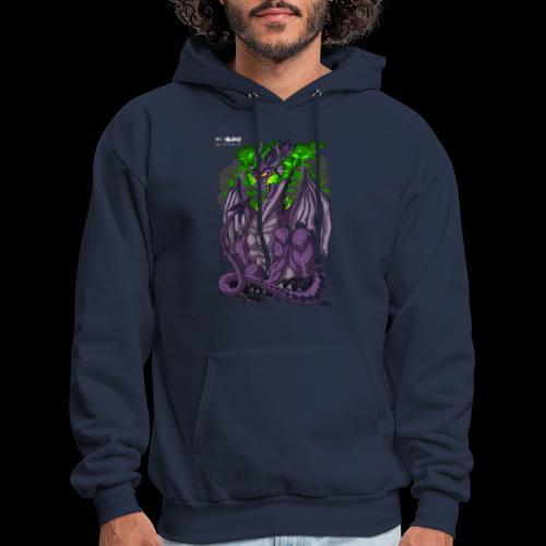 Purple Dragon - Men's Hoodie
