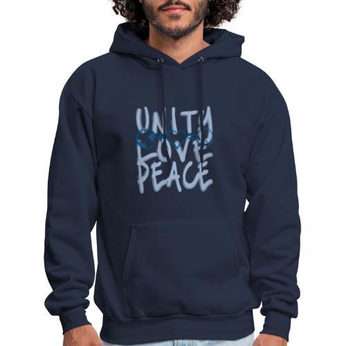 Unity Love Peace - Men's Hoodie