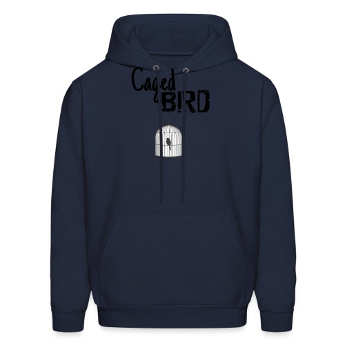 Caged Bird Abstract Design - Men's Hoodie
