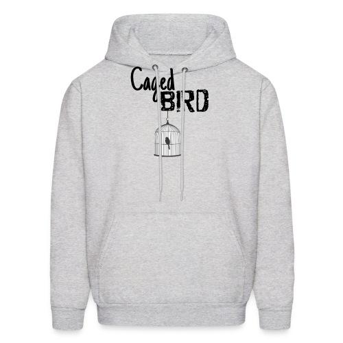 Caged Bird Abstract Design - Men's Hoodie