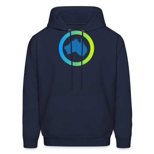 Gradient Symbol Only - Men's Hoodie