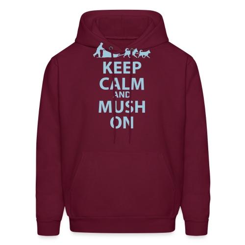 Keep Calm & MUSH On - Men's Hoodie
