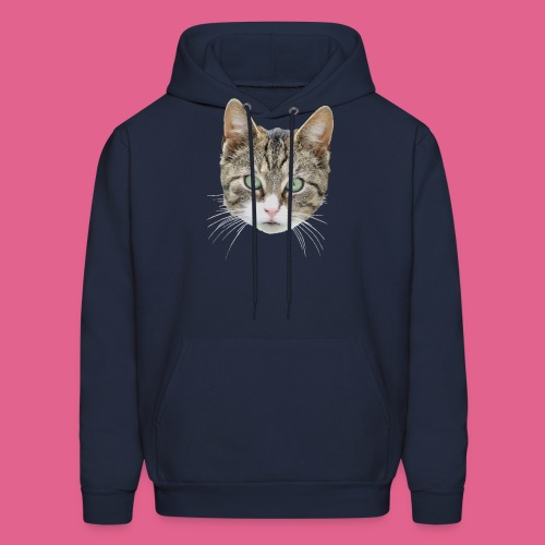 cathead color Edited - Men's Hoodie