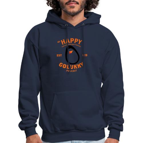 HappyGoLukky Vintage Orange - Men's Hoodie