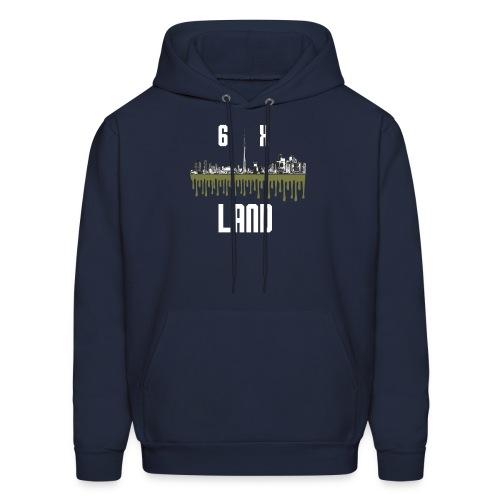 6ixland Logo - Men's Hoodie