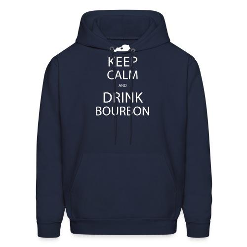 Keep Calm and Drink Bourbon - Men's Hoodie