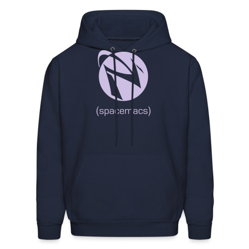 mono-with-text - Men's Hoodie