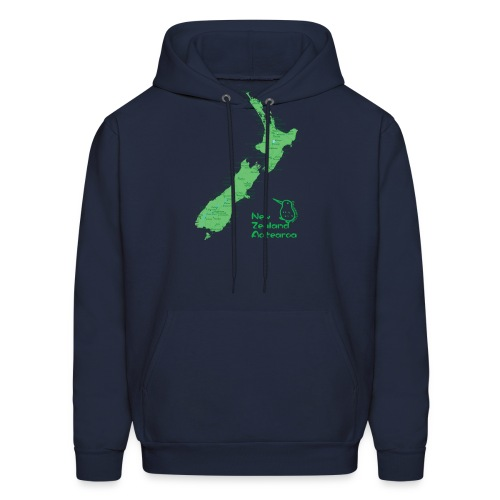 New Zealand's Map - Men's Hoodie