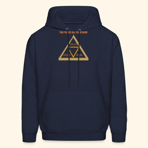 Run4Dogs Triangle - Men's Hoodie