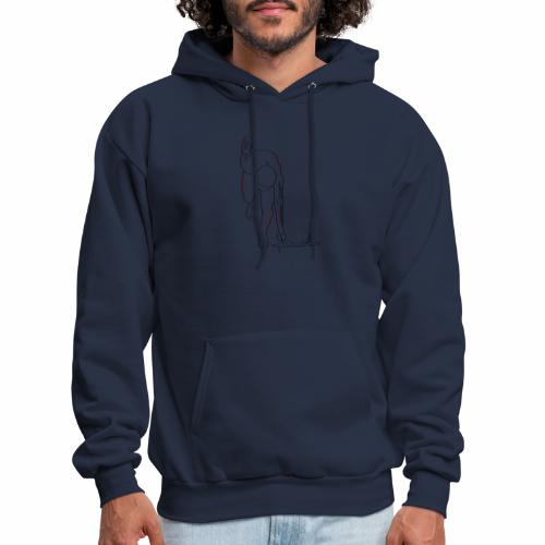Skeleton Athlete - Men's Hoodie