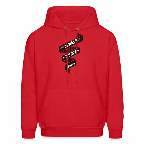 Stay Young - Men's Hoodie