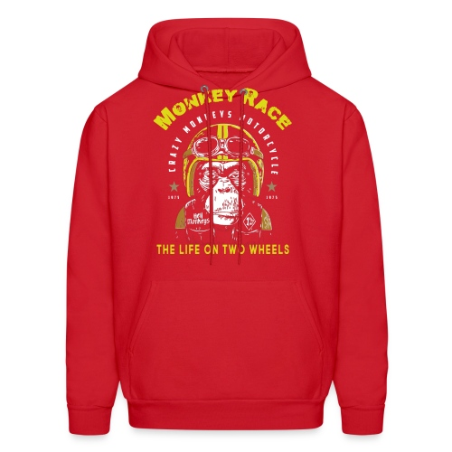 MONKEY RACE - Men's Hoodie