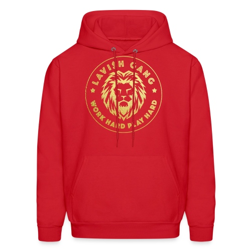 LAVI$H GANG | Work Hard Play Hard - Men's Hoodie