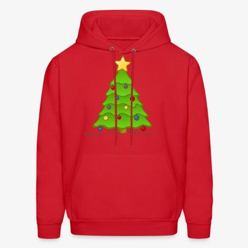 christmas tree - Men's Hoodie