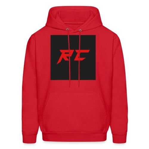 RED RC Logo - Men's Hoodie