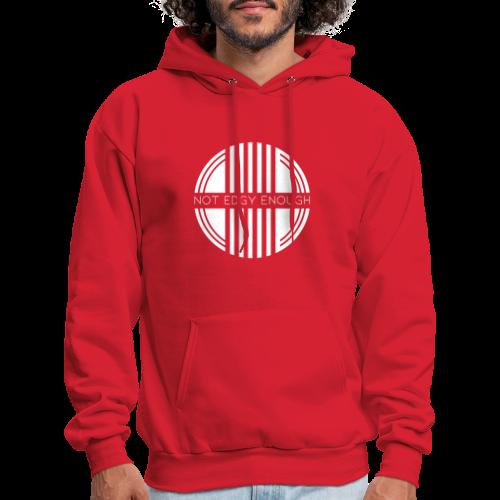White Logo - Men's Hoodie