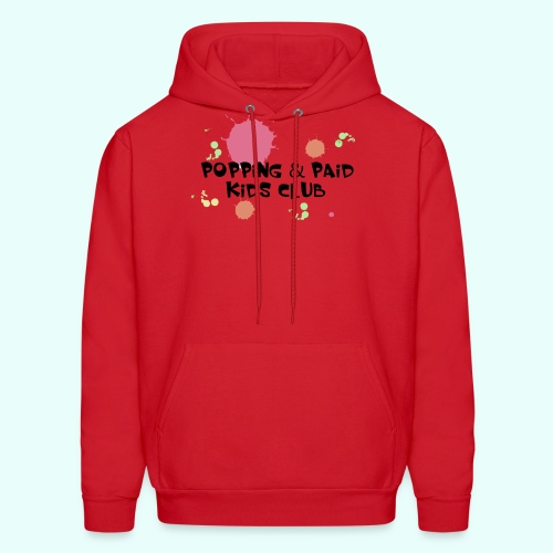 Popping & Paid Kids Club - Men's Hoodie