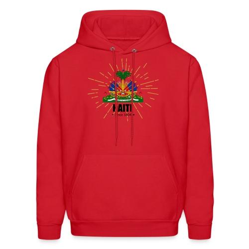 Haiti Emblem - Men's Hoodie