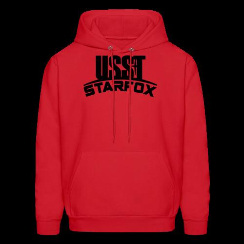 USST STARFOX Text - Men's Hoodie