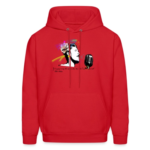 Homage: Billie Holiday - Men's Hoodie