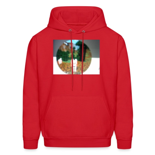 Wolf dog t-shirt - Men's Hoodie