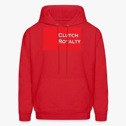 Clutch Royalty text - Men's Hoodie