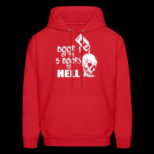 Door 1 of the 5 Doors to Hell - Men's Hoodie