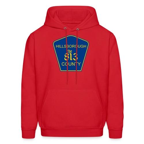 Hillsborough the813 County - Men's Hoodie