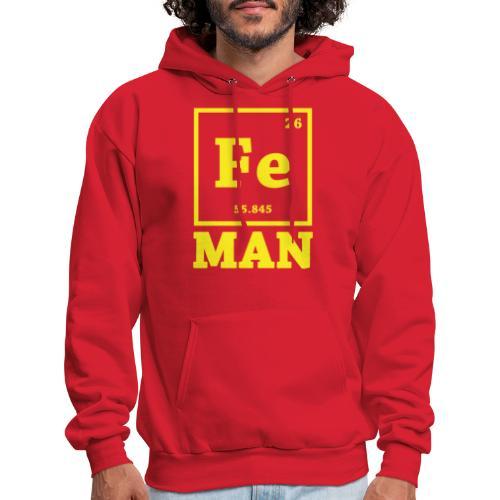 Iron Chemistry Man Science - Men's Hoodie
