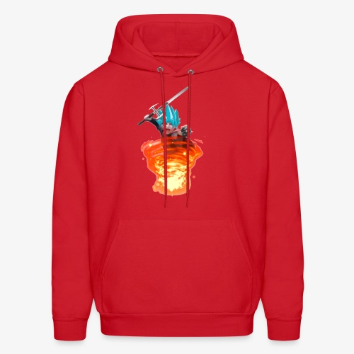 The Power of God and Anime - Men's Hoodie