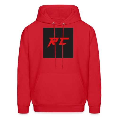 RED RC Logo - Men's Hoodie