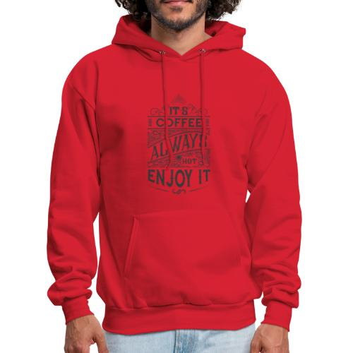Motivation t-shirt with quote - Men's Hoodie