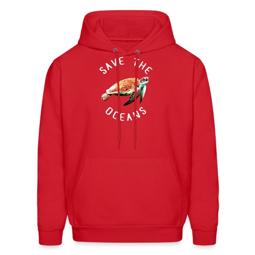 Save the oceans | Save the sea turtles - Men's Hoodie