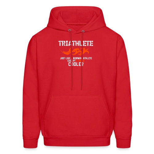 Cool Triathlete - Men's Hoodie