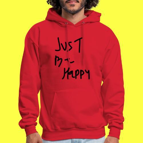 justbehappy - Men's Hoodie